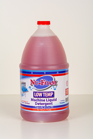 low temp machine liquid detergent