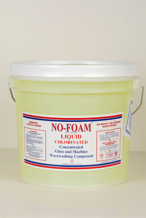 No-Foam liquid chlorinate