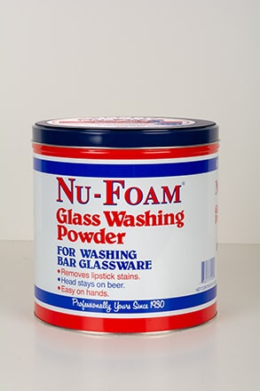 Glass dishwashing powder